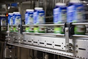 Bottled milk production line